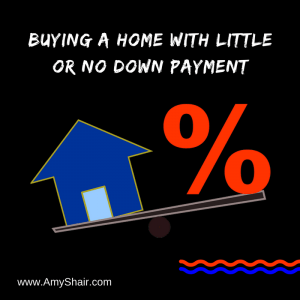 Buying a Home with Little or No Down Payment