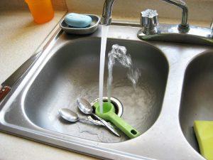 older kitchen sink