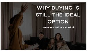Buying is Still the Ideal Option